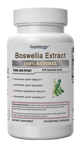 Boswellia extract for joint pain in dogs