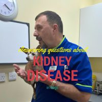 answering questions about kidney disease in dogs