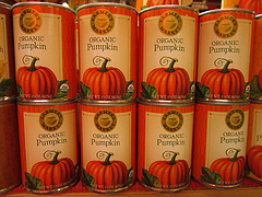 canned pumpkin to add fibre to a senior dog diet