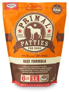 Primal Pet Foods Raw Dog Food