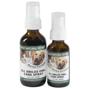Only Natural Pet All Smiles Oral Care Spray