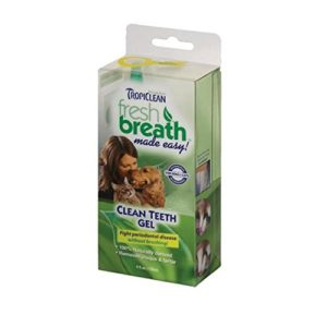 Tropiclean clean teeth gel toothpaste for dogs
