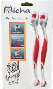 Micha pet toothbrush for small dogs
