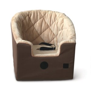 K H Manufacturing Bucket Booster Pet Seat in tan