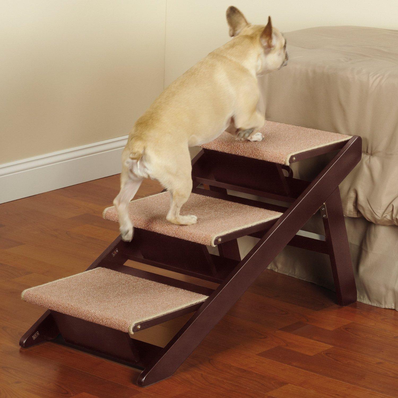Pet Studio Pine Frame Dog RampSteps