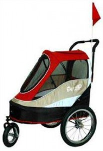 Pet Happy Trailer Stroller Review