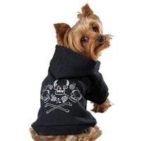 cross bone hoodie