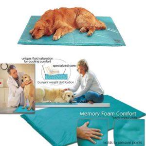 Canine Cooler cool dog bed