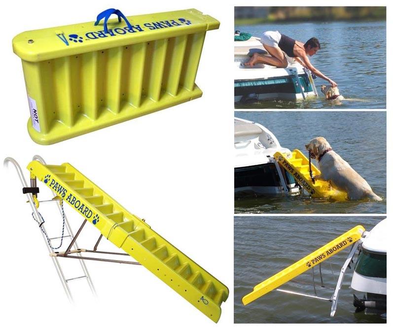 Doggie Boat Ladder Pet Ramp Caring For A Senior Dog