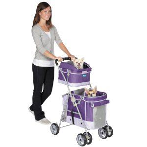 Guardian Gear double decker pet stroller review