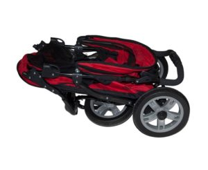 Pet Gear AT3 pet stroller folded