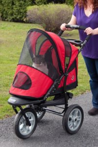 Pet Gear AT3 pet stroller for cats