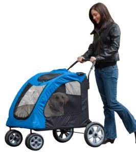 Pet Gear Expedition Pet Stroller for large dogs