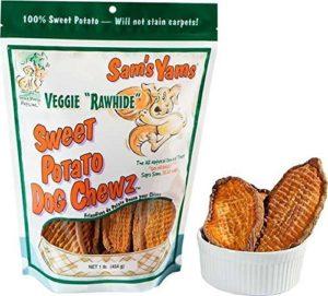 sams yamz sweet potato dog chewz