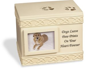 AngelStar pet urn for dogs