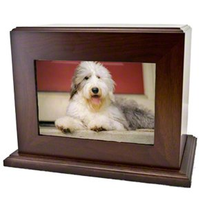 photo pet memorial box urn