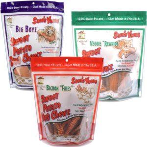 sams yams sweet potato chews
