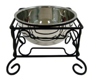 YML wrought iron stand