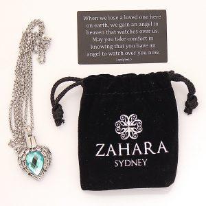 zahara memorial urn necklace