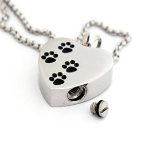 Zahara pet memorial urn necklace