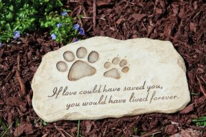 evergreen enterprises pet memorial stones