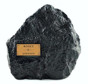 granite garden rock urn