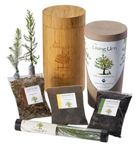 living urn planting system for pets cremains