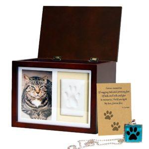 pet memorial box urn
