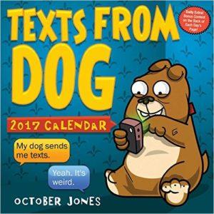 texts from dog 2017 calendar