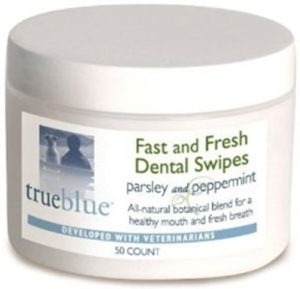 true blue fast and fresh dental swipes