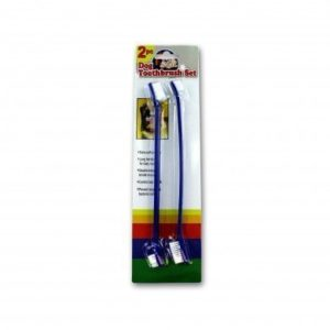 two piece dog toothbrush set