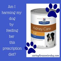 prescription diet dog food