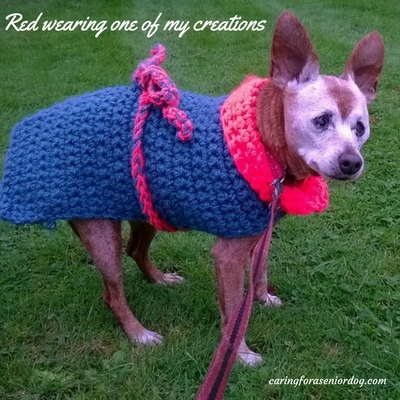 how to crochet a dog coat