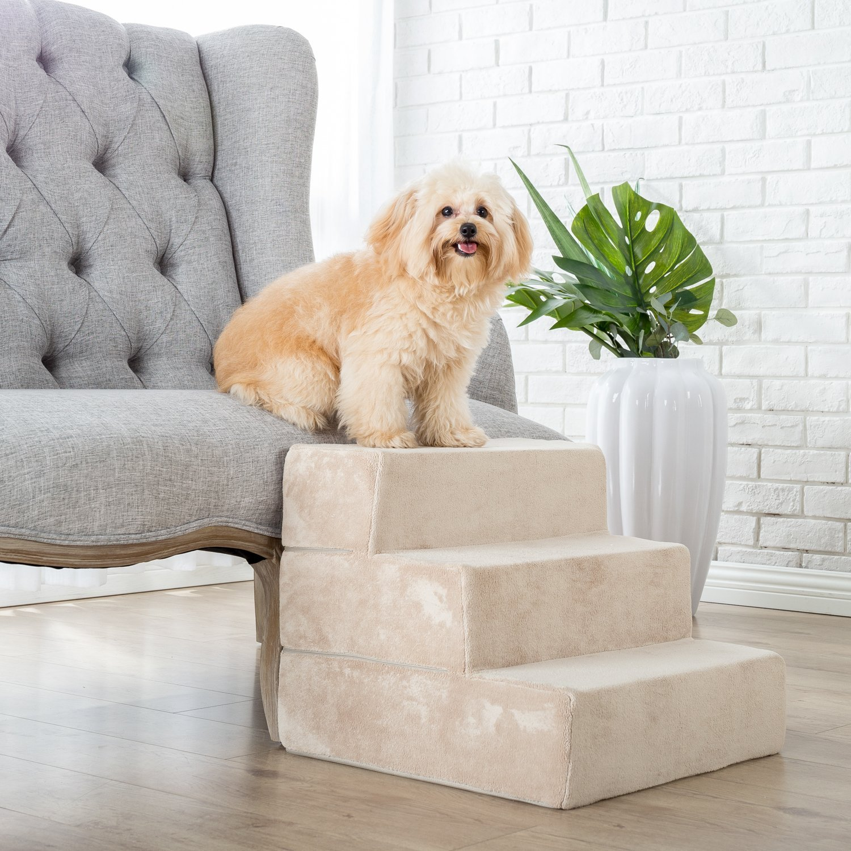 Lovely Zinus 3 Step Foam Pet Stairs