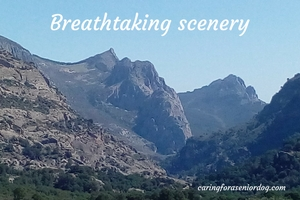 breathtaking scenery in the El Chorro area