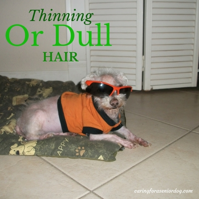 thinning or dull hair