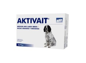 Aktivait for a dog with dementia