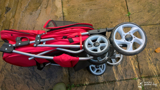foldable is a great feature when choosing the right pet stroller